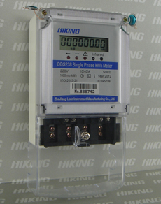 DDS238 single phase two wire RS485 type