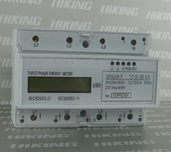 DT(S) 238-7 DXS238 Three Phase DIN-rail KWH Meter(Three Phase DIN-rail Meter, Three Phase DIN-rail Watt-hour Meter, Three Phase DIN-rail Energy Meter)