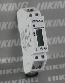 Single Phase Din Rail Type Multifunction Energy Meter