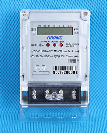 DDS238 single phase three wire type (Single Phase Three Wire Watt-hour Meter, Single Phase Three Wire KWH Meter, Single Phase Three Wire Energy Meter)