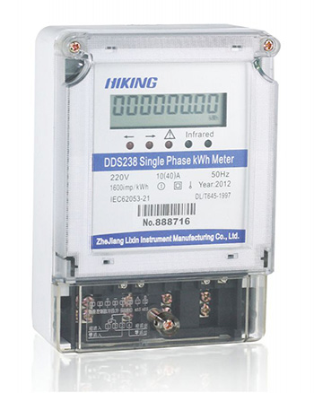 DDS238 single phase two wire RS485 type (Single Phase Two Wire RS485 Type Watt-hour Meter, Single Phase Two Wire RS485 Type KWH Meter, Single Phase Two Wire RS485 Type Energy Meter)